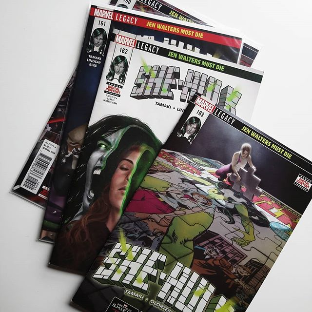 She-Hulk #162-163 USA