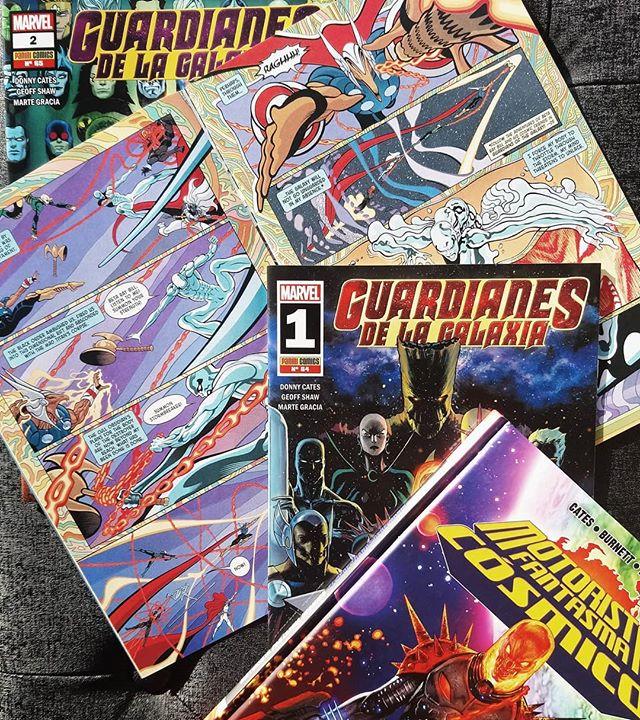 Pack Marvel Cósmico de Donny Cates, que está de moda
