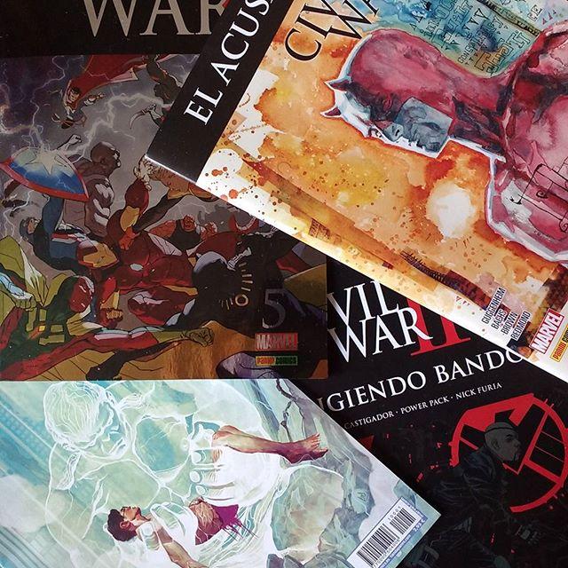 Pack Civil War II diciembre