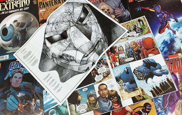 Pack grapas Marvel de abril