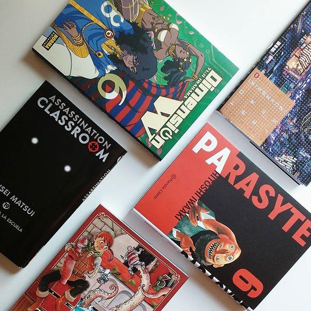 Pack manga ci-fi y fantasía