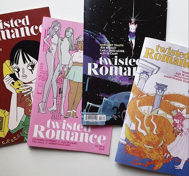 Twisted Romance #1-4 USA