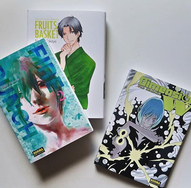 Pack manga Norma de marzo