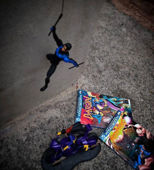 Nightwing #7 y Batgirl #2