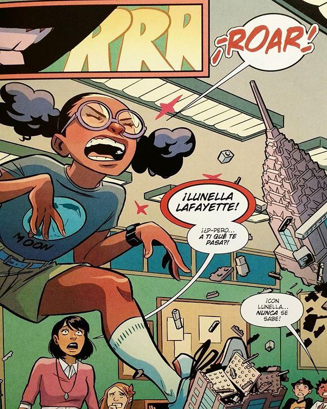 Moon Girl y Dinosaurio Diabólico #2