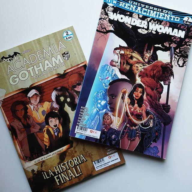 Academia Gotham: Segundo Semestre #2 y Wonder Woman #7