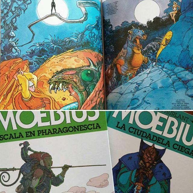 Colección Metal Hurlant - Moebius #3 y #4