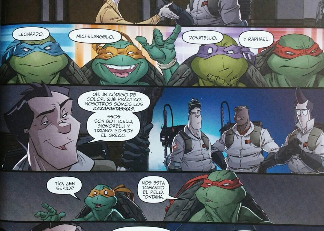 Cazafantasmas / Tortugas Ninjas
