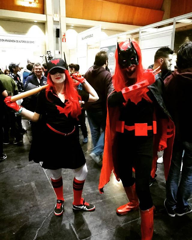 Batwomen en Zaragoza