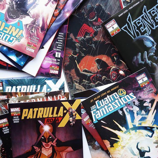 Pack grapa Marvel de diciembre y enero
