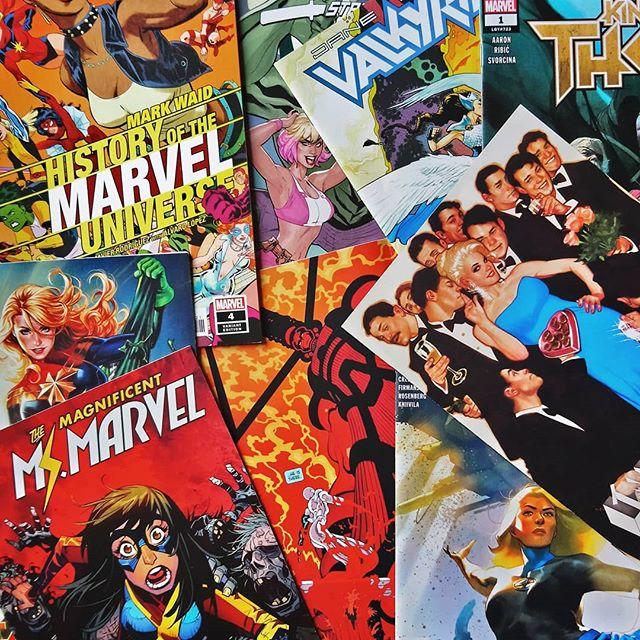 Pack grapa Marvel USA de noviembre-diciembre