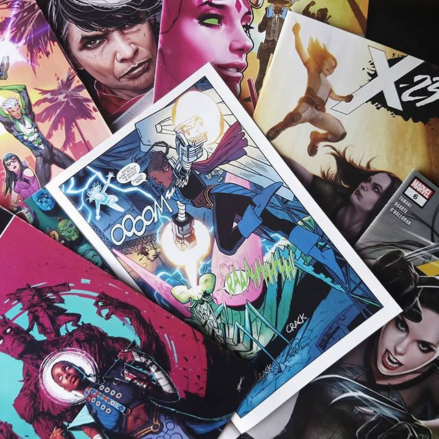 Pack grapa Marvel USA de marzo