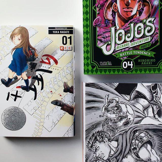Pack manga de enero