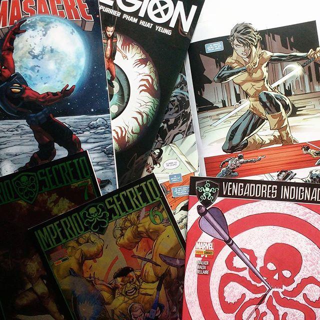 Pack un poco random de grapa Marvel