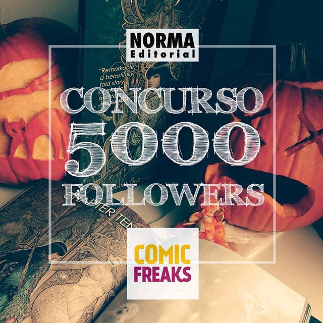Concurso 5000 followers