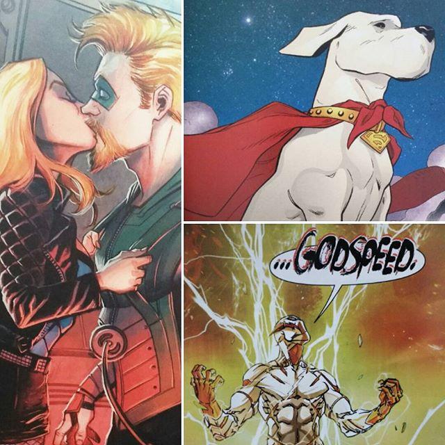 Pack de héroes DC de marzo