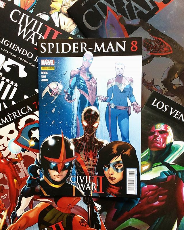 Pack Civil War II de enero