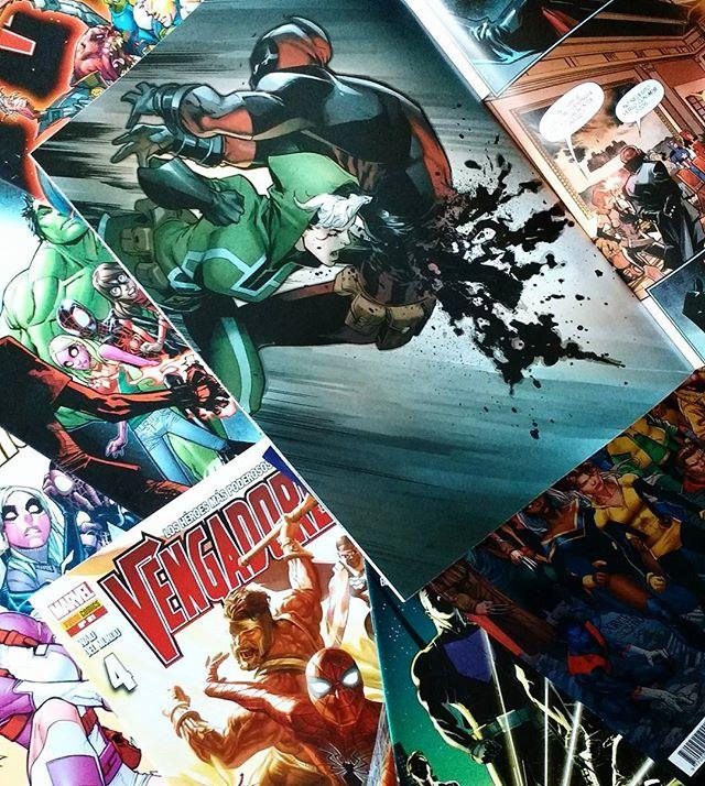 Grapas grupales Marvel de junio/julio
