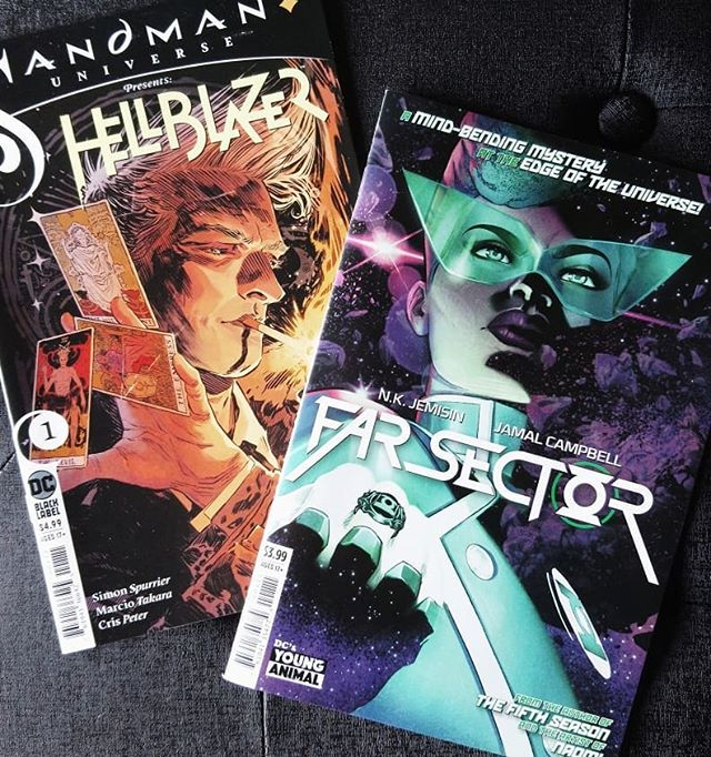 Sandman Universe Presents: Hellbazer #1 USA + Far Sector #1 USA