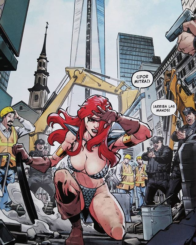 Red Sonja de Amy Chu #1