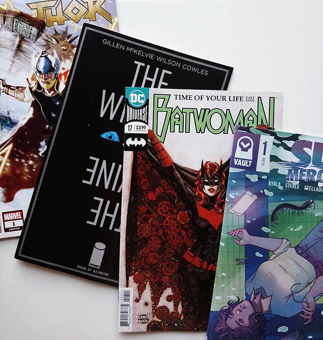 Cuatro cómics USA