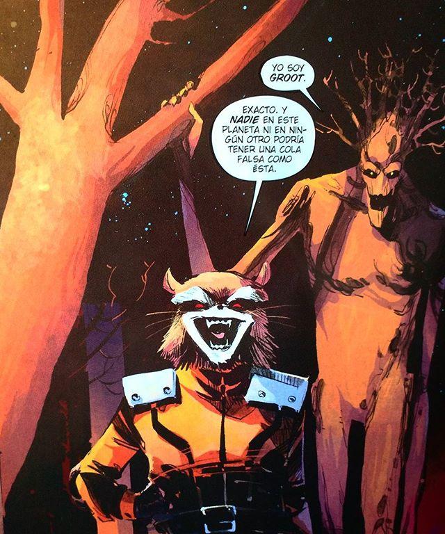 Mapache Cohete y Groot #1 a.k.a. #18