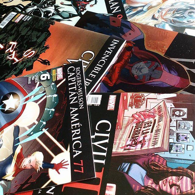 Pack Civil War II de febrero