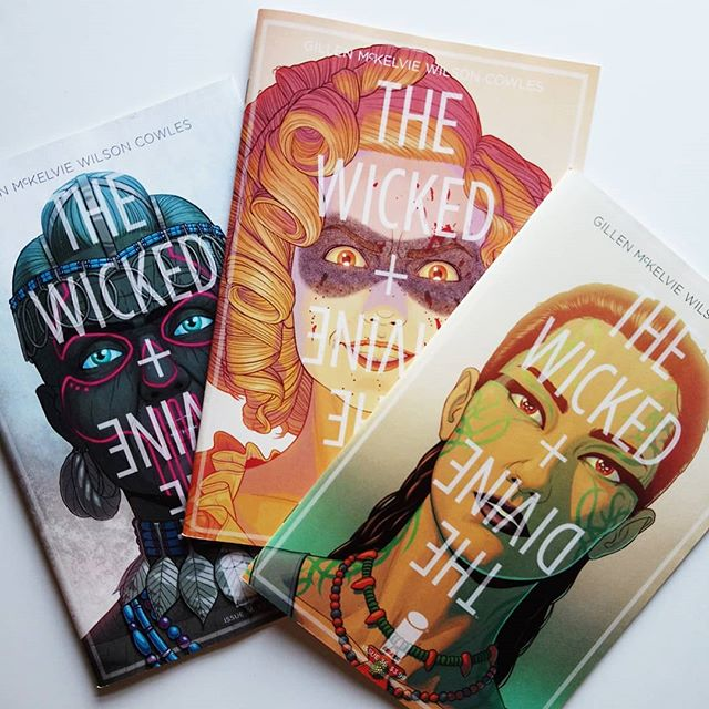 The Wicked + The Divine #34-35-36 USA